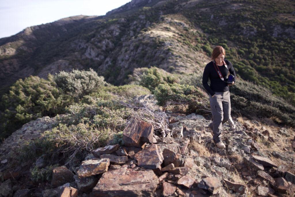 Nicole Raukamp, una pecora nera in giro della Sardegna